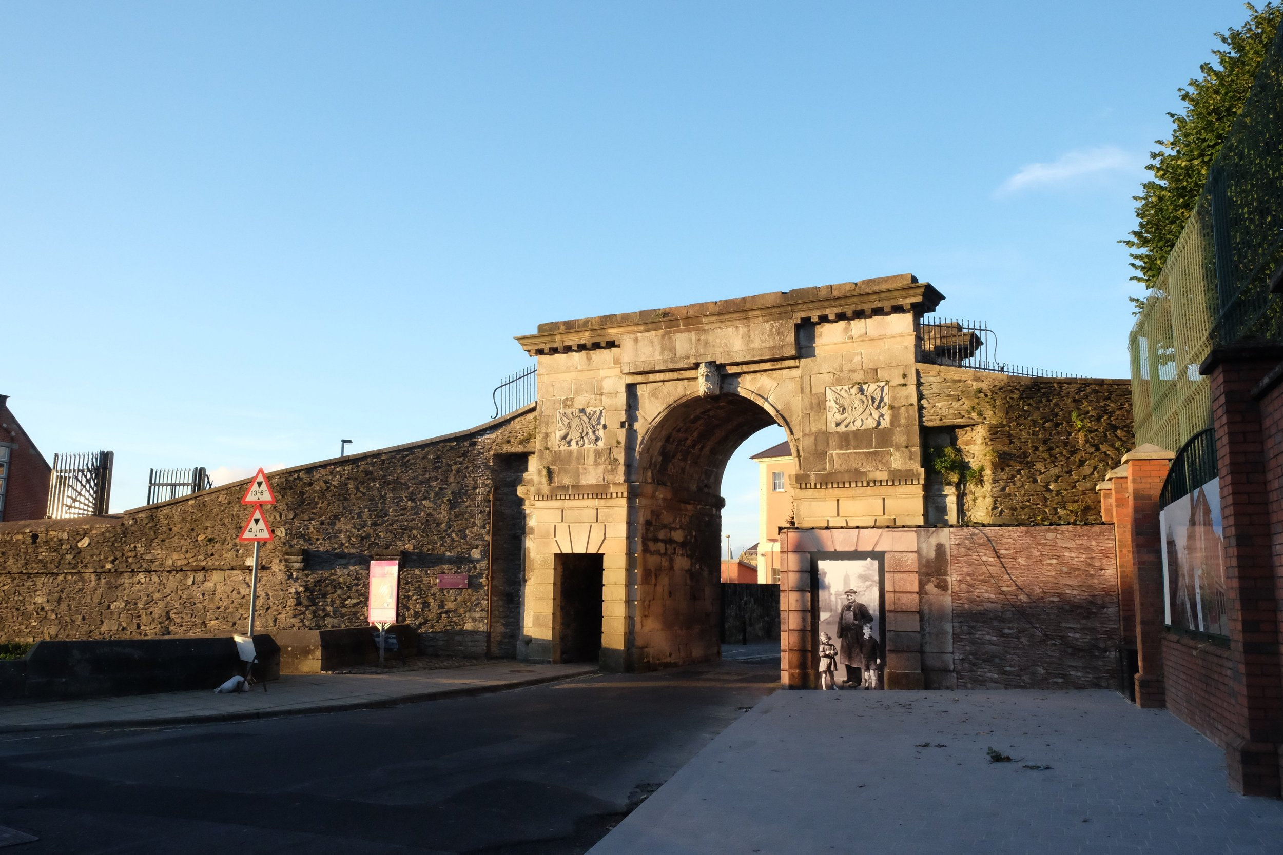 Entry to Old Derry.