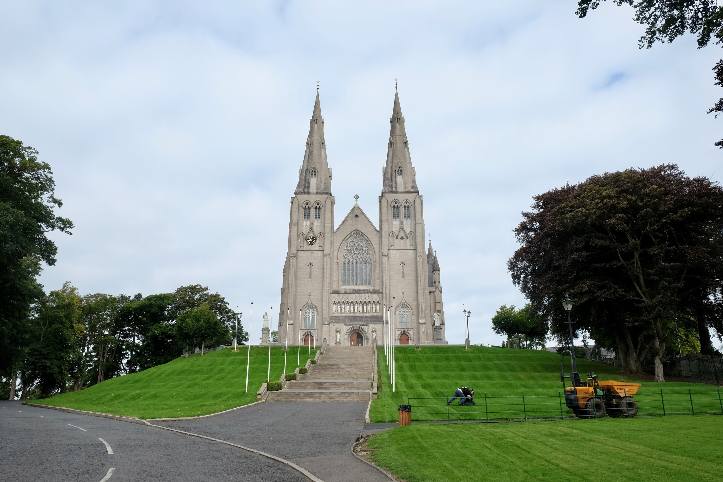 This is Saint Patrick's Cathedral.
