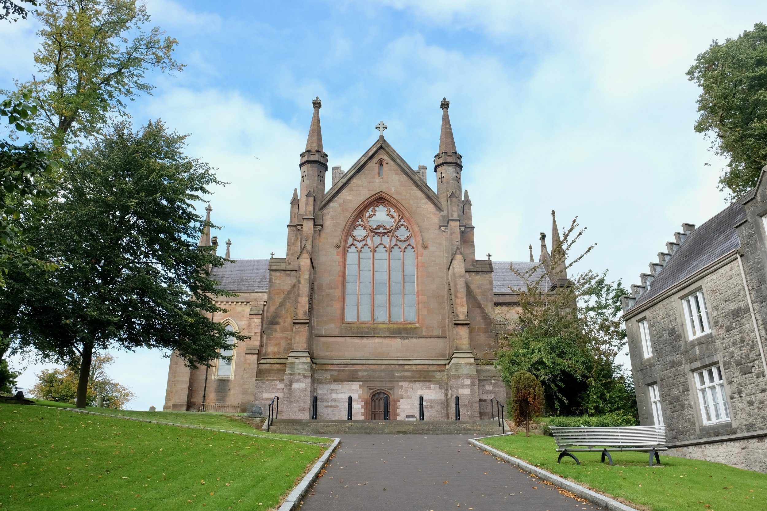 Here is the other Saint Patrick's Cathedral à la Church of Ireland, dating back to 445 AD.