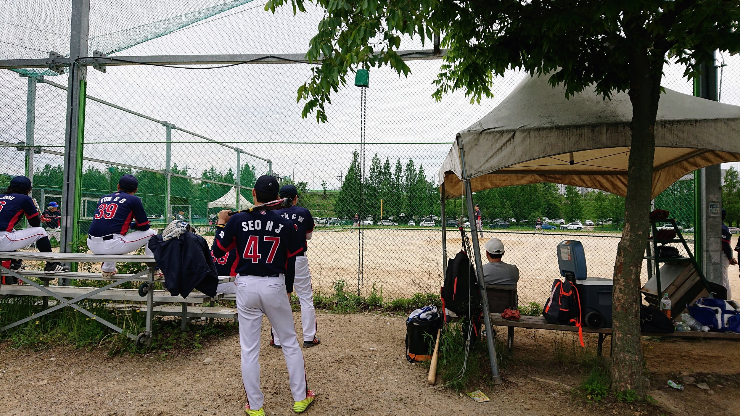 Koreans love a bit of baseball. You're never far from a game.
