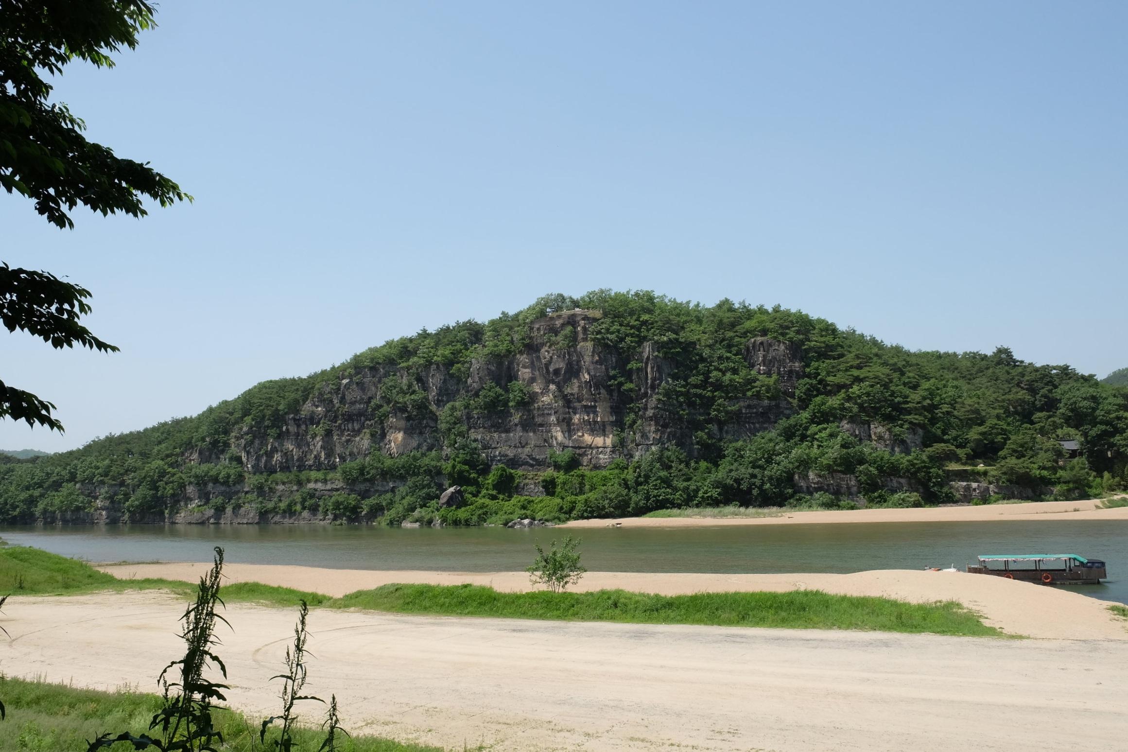 The Nakdong River.