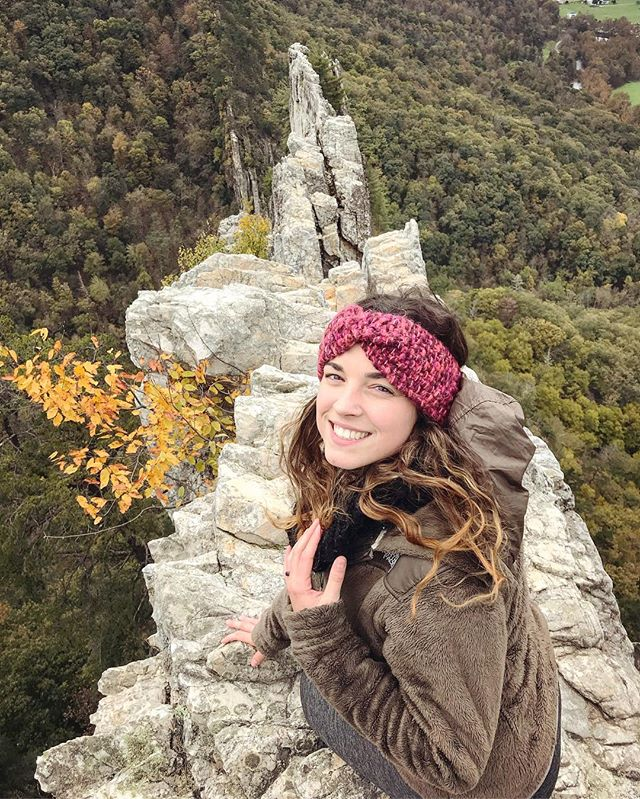 Happy birthday to this absolutely stunning woman. I wouldn't trade anything for our adventures together, even if she does make me nervous sometimes 😘. Here she is looking amazing and hanging over a couple hundred foot drop on the spine of Seneca Rocks. #thatsmywife 😍🤘