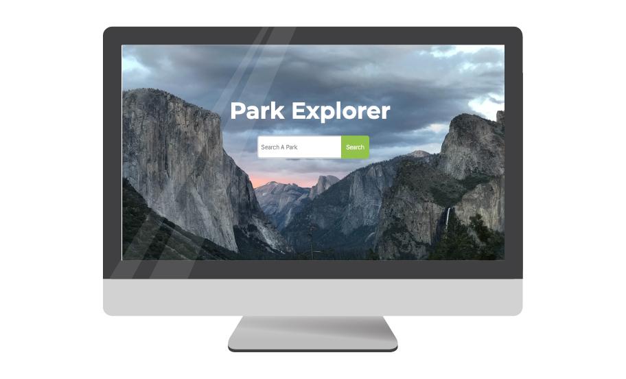 National Park Explorer (single page javascript web application)