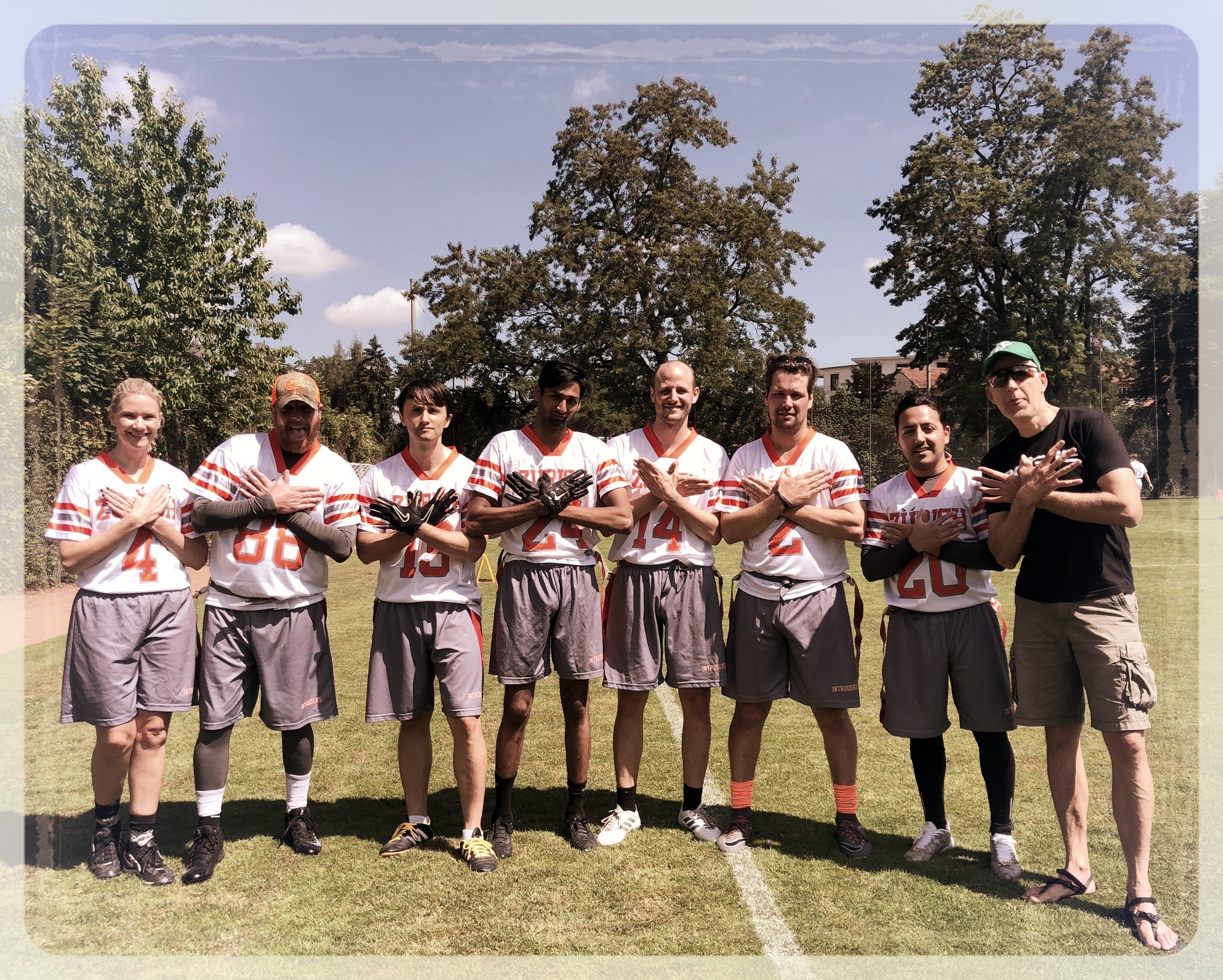Your 2018 Intruders (at least some of them), June 23, 2018 in St. Gallen.