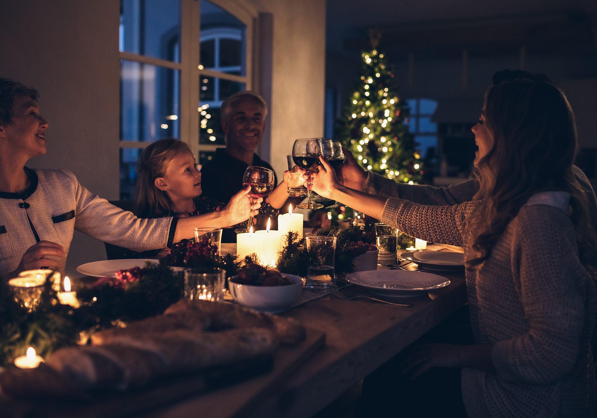 Das große Weihnachtsessen im LMH