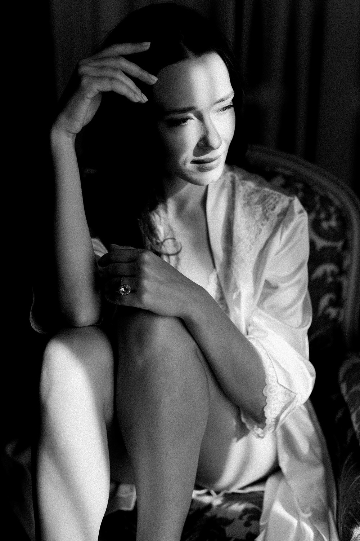film wedding photography bride boudoir portrait