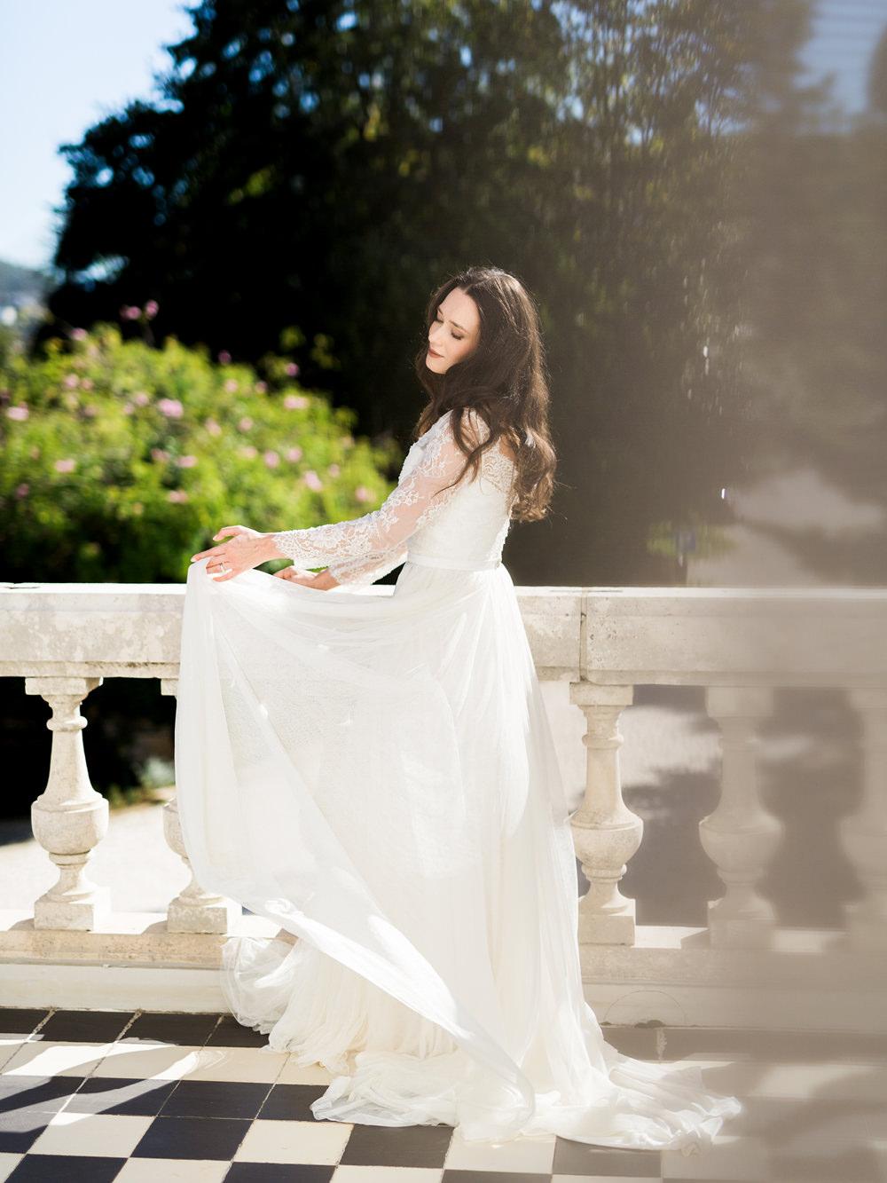 film wedding photography bride dress