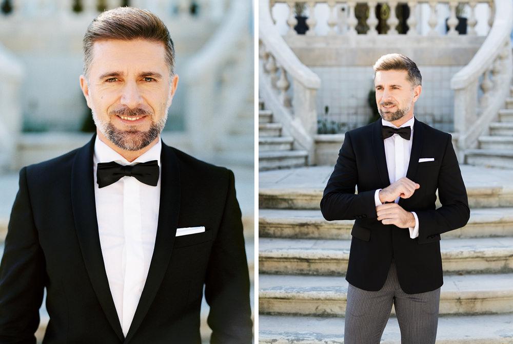 film fineart wedding groom