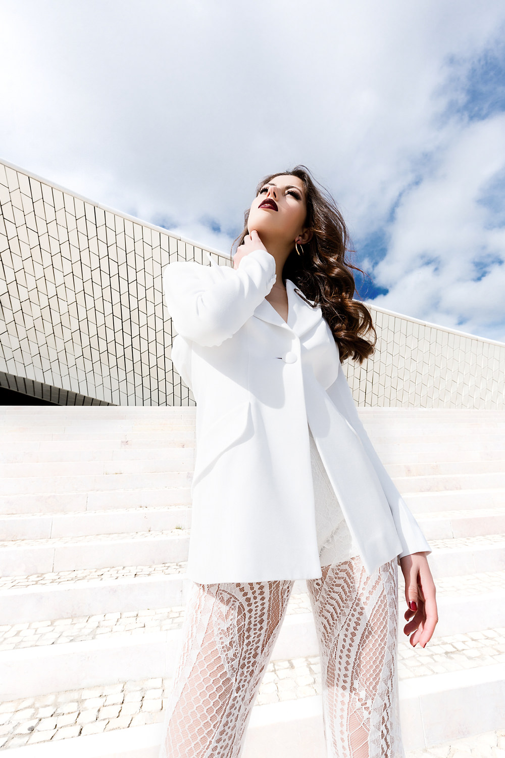 Fashion Wedding Editorial in Lisbon with Rime Arodaky dress