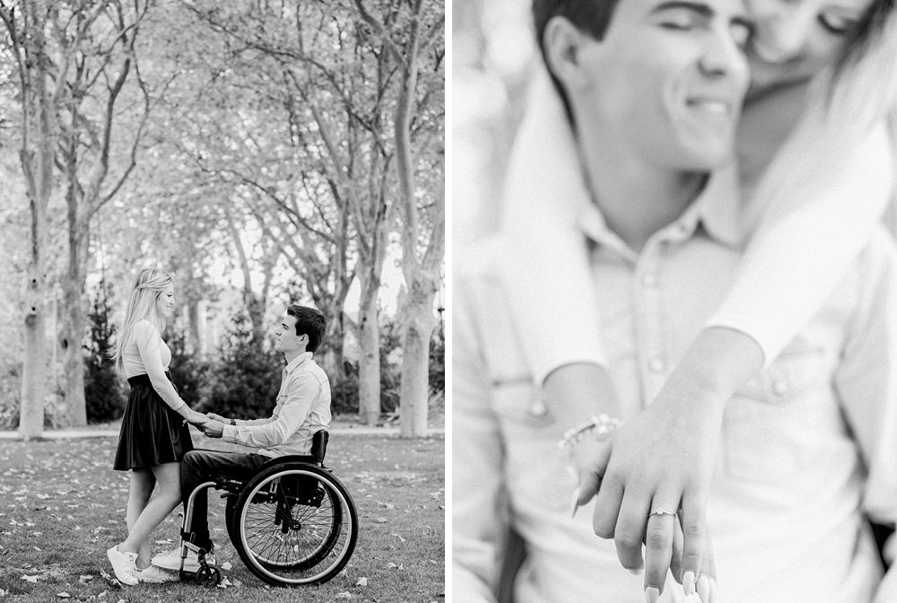 Engagement Love Session with Wheelchair Inspiration in Algarve, Portugal