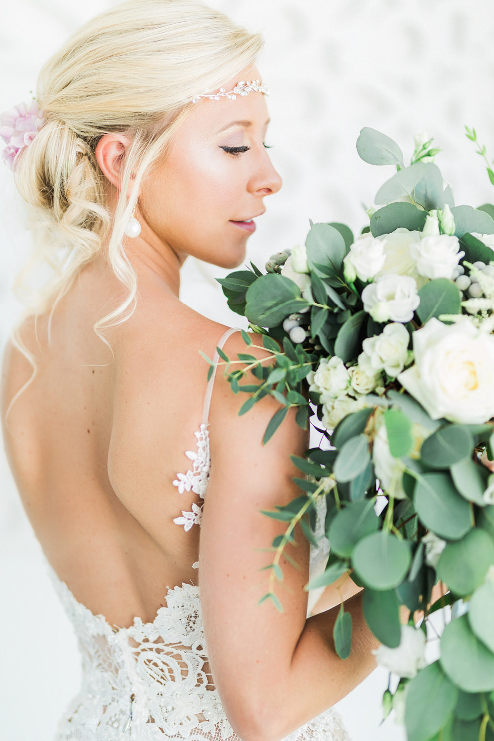portugal fineart wedding photography bride portrait bouquet