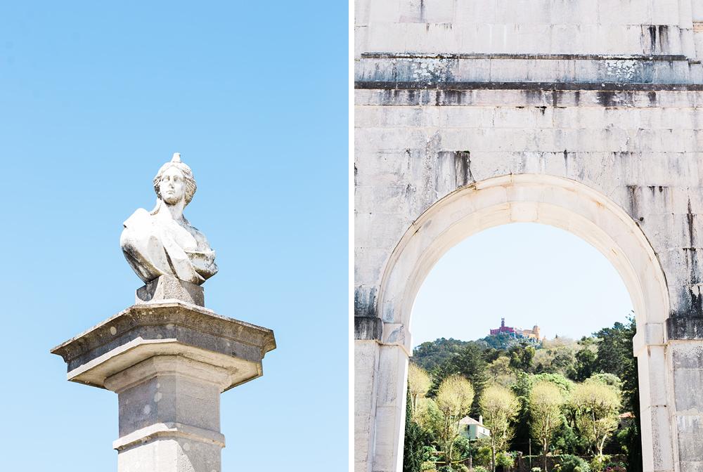 Elopement Wedding Photography, Seteais Palace in Sintra