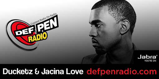 Twitter Header / Def Pen Radio