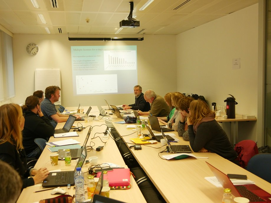 TAPAS Steering Committee and Case Study meeting in Brussels.