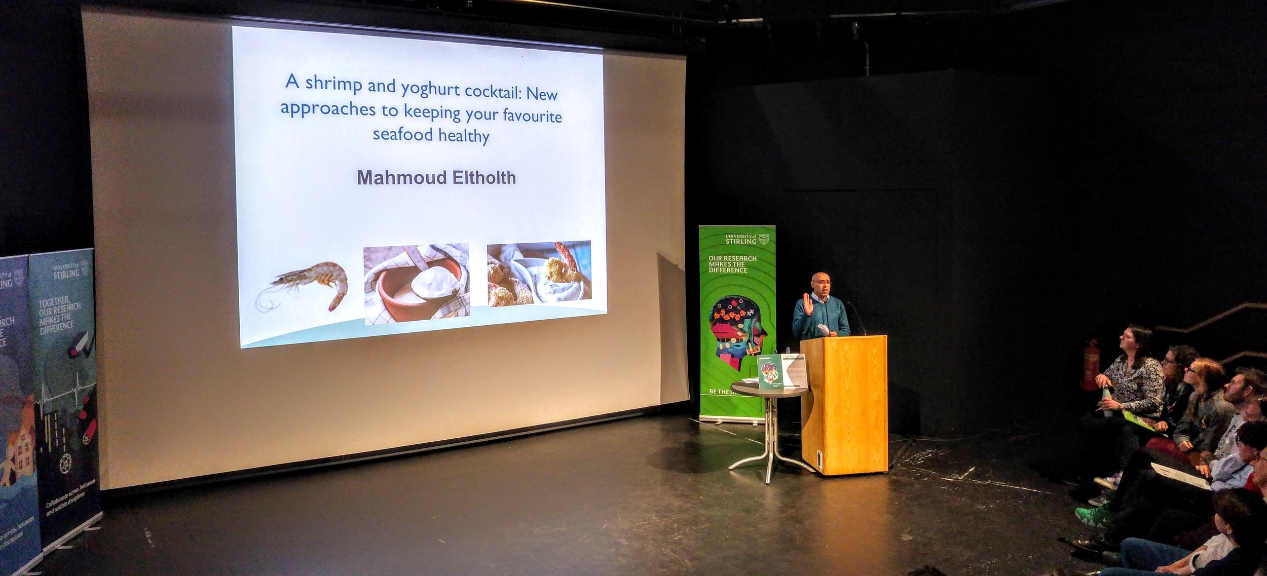 Mahmoud Eltholth introducing the IMAQulate project and initial findings