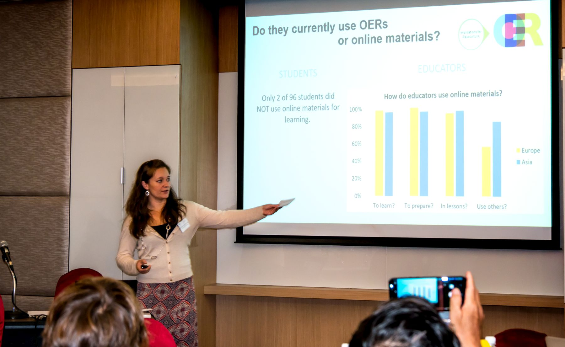 Alexandra Pounds Presenting at the EURASTIP Education Workshop in Kuala Lumpur, 2017