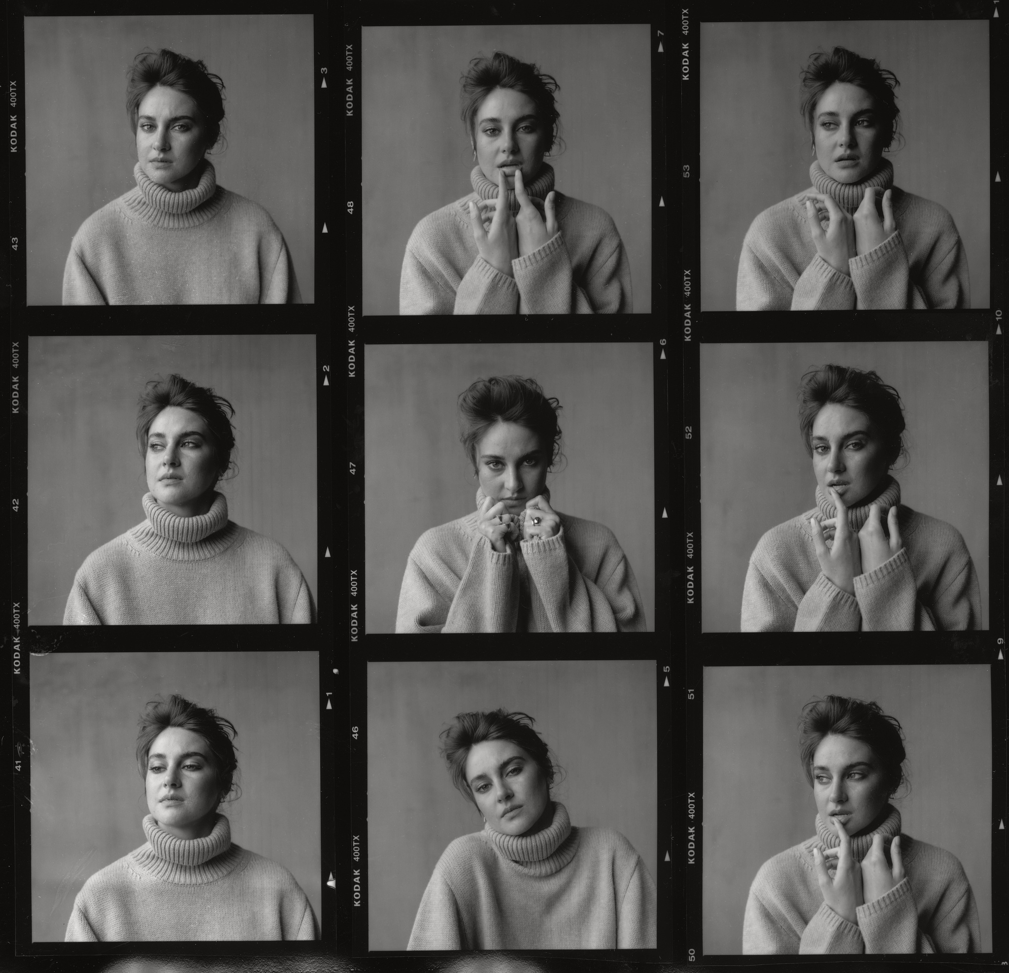 Shailene Woodley for WWD by Leigh Nordstrom, Styled by Alex Badia