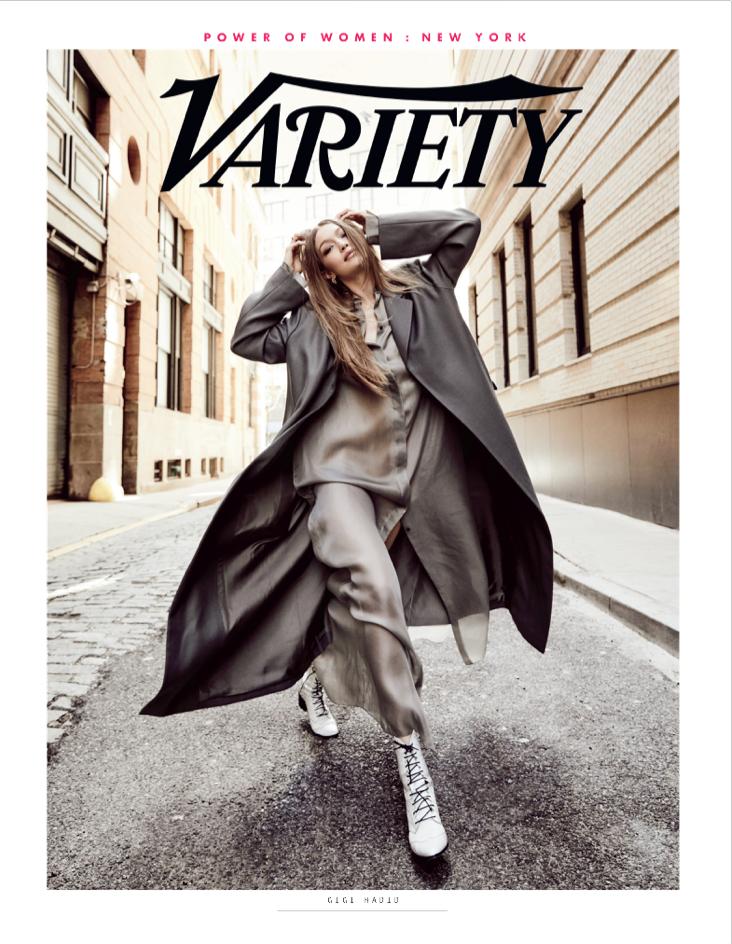 Variety's 2019 Power of Women: Gigi Hadid, Styled by Alex Badia