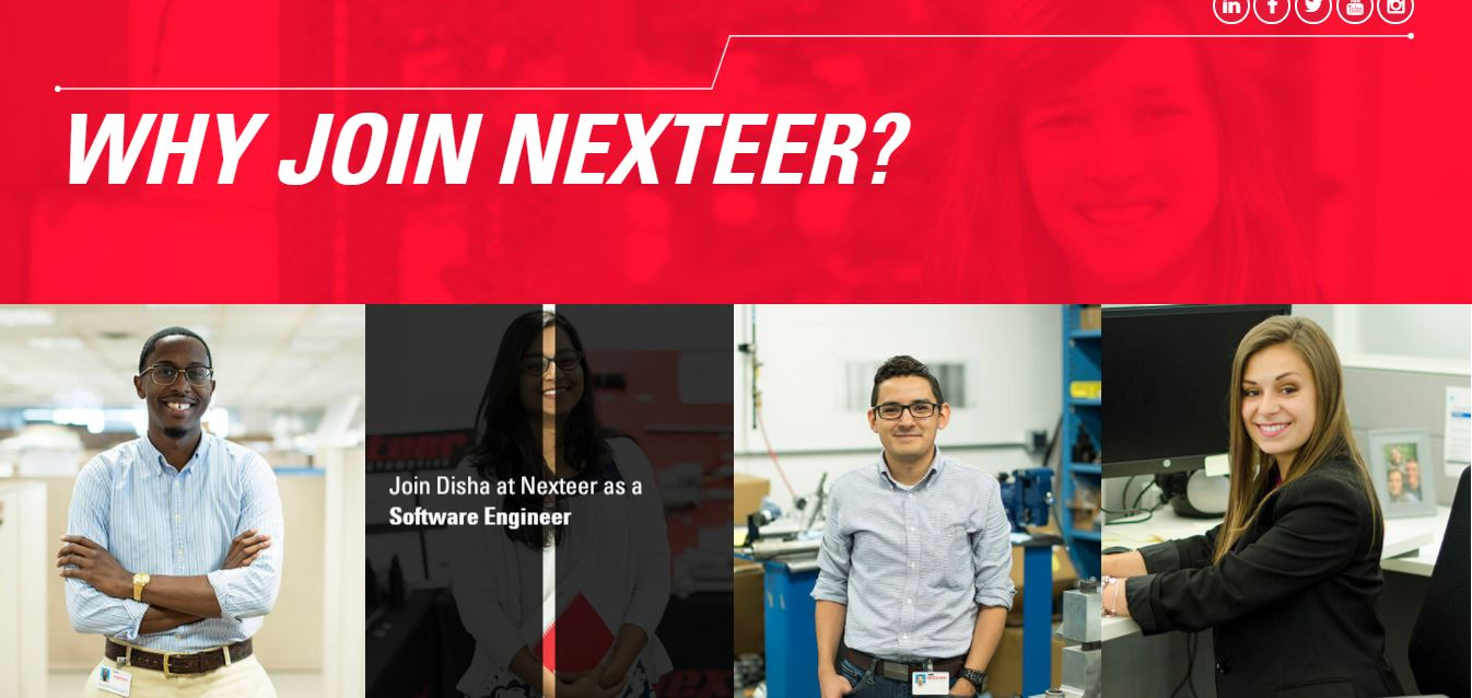 From nexteer.com/why-join-nexteer/