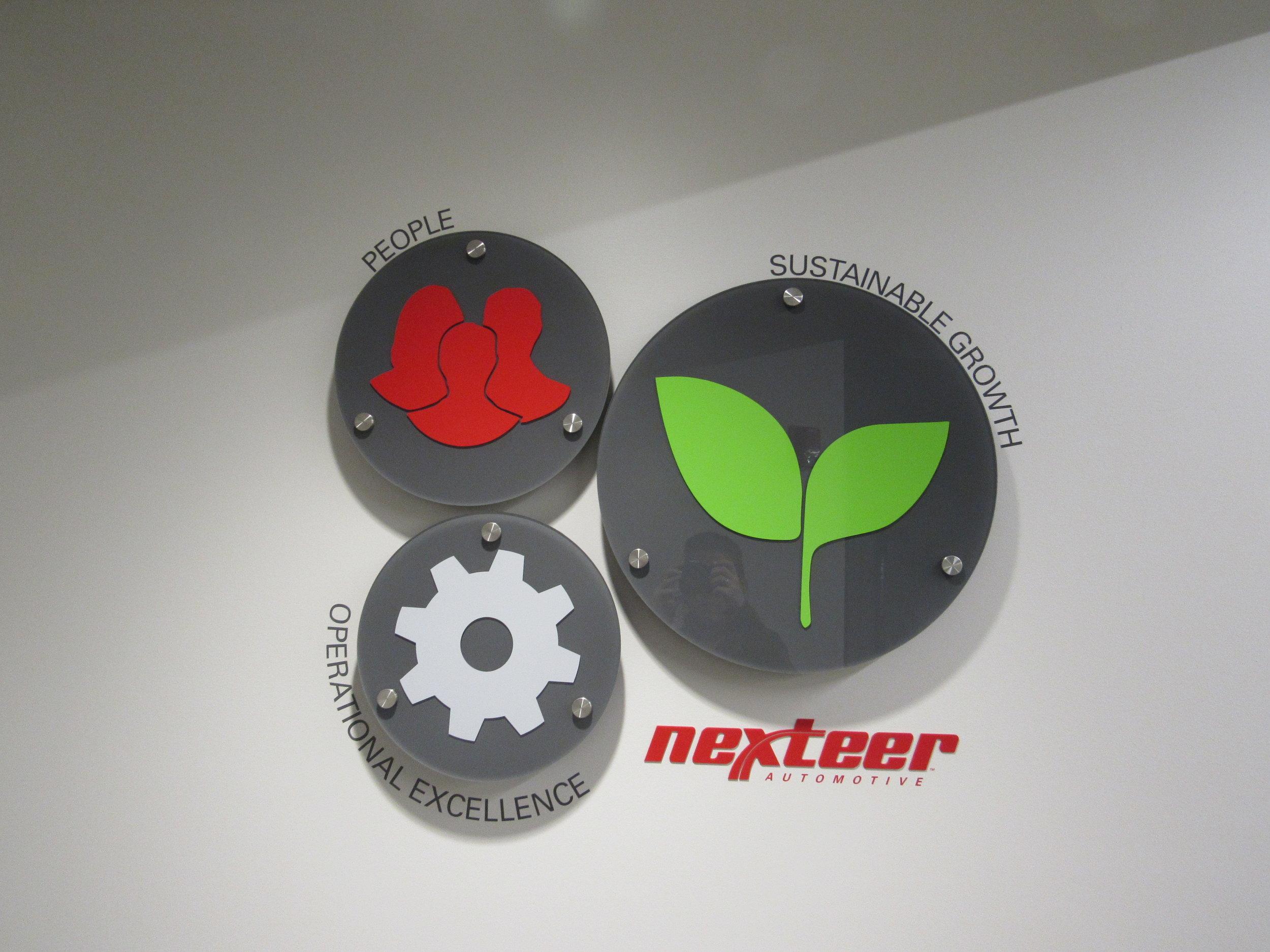 Nexteer Culture Installation