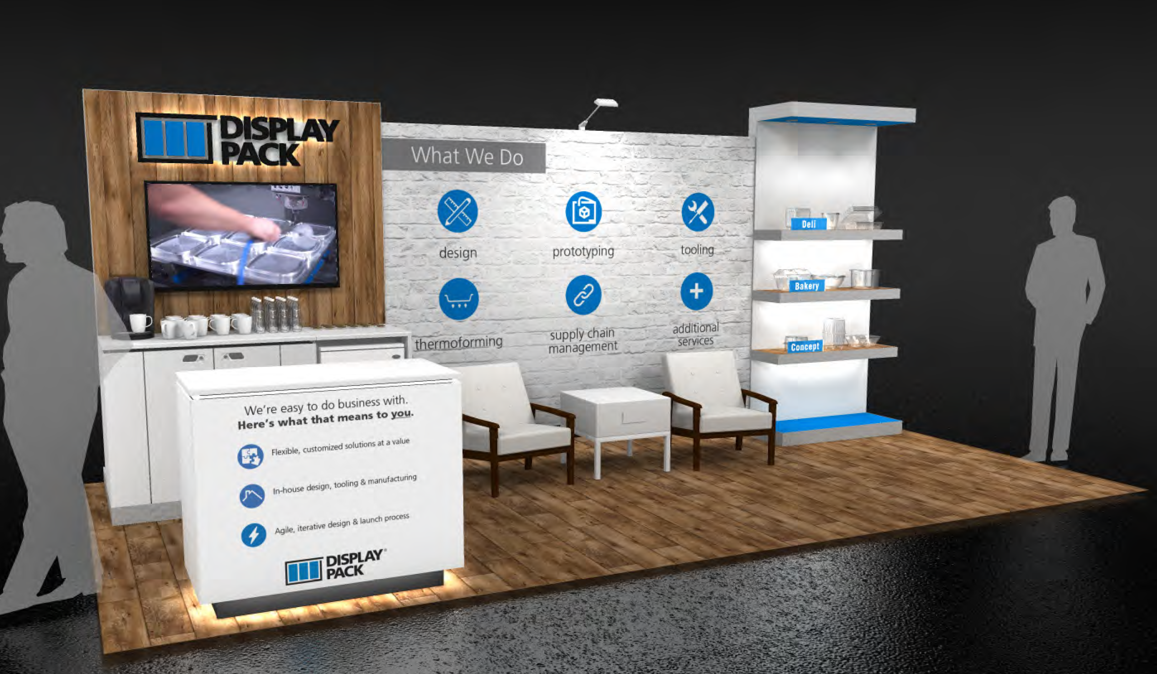 NEW 10 x 20 Booth Design