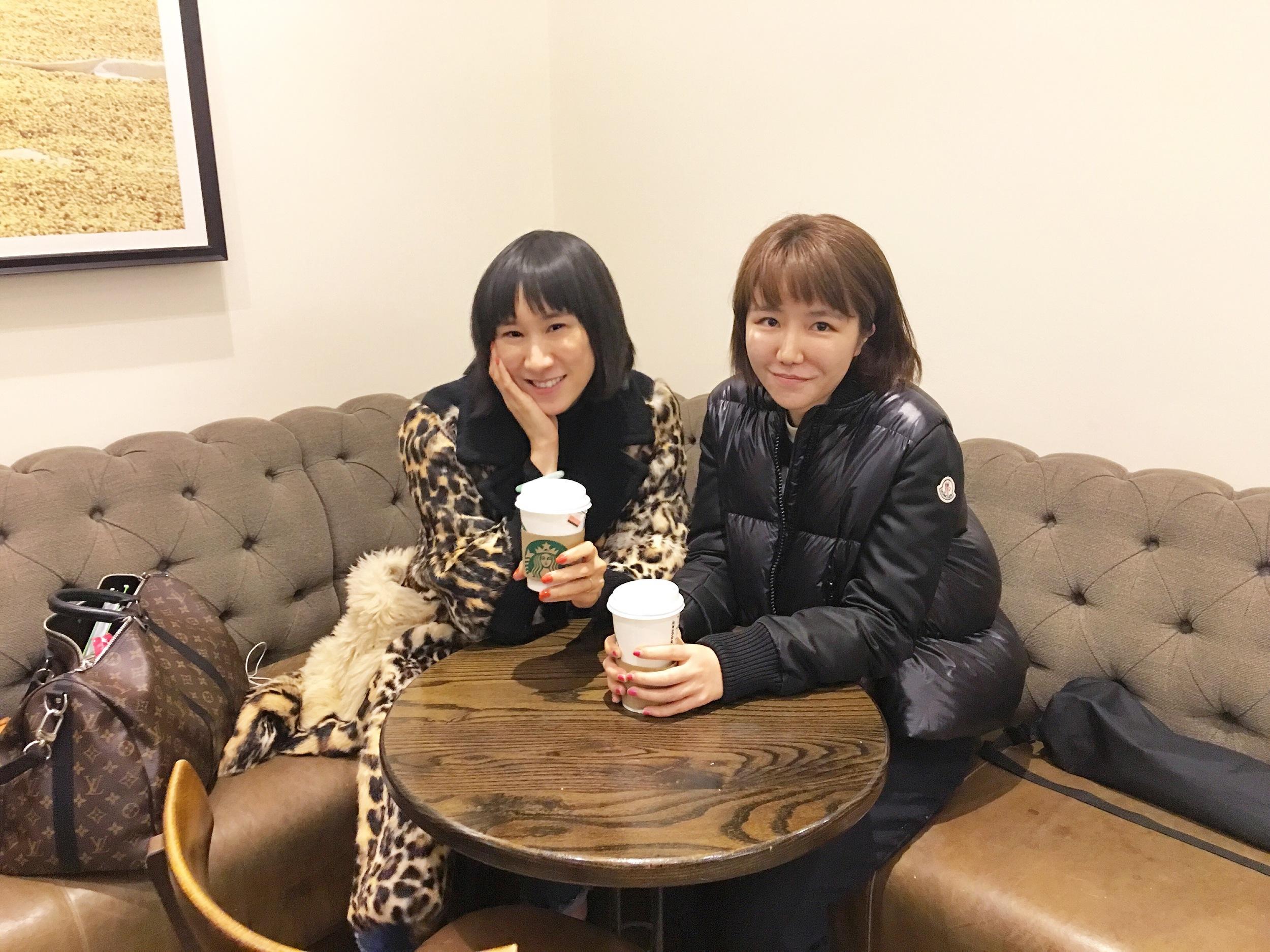 With Eva Chen