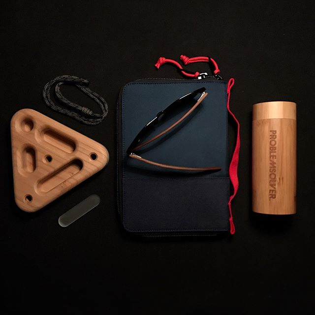 Hyped about our freshly squeezed Cherry Triangle. This one will definitely have a place in our backpacks this summer. #problemsolver_hangboards • • • • • #portabletraining #portabletrainingequipment #climbing #vacation #bouldering #climbing #klettern #arrampicata #wood #cherry #woodwork #sweden #stockholm #trainingforclimbing #trainhardclimbhard • • • • • Ps. We're also as hyped about our new shades, coming soon. DM for more info.