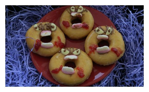 Get thee behind me Doughnuts!!