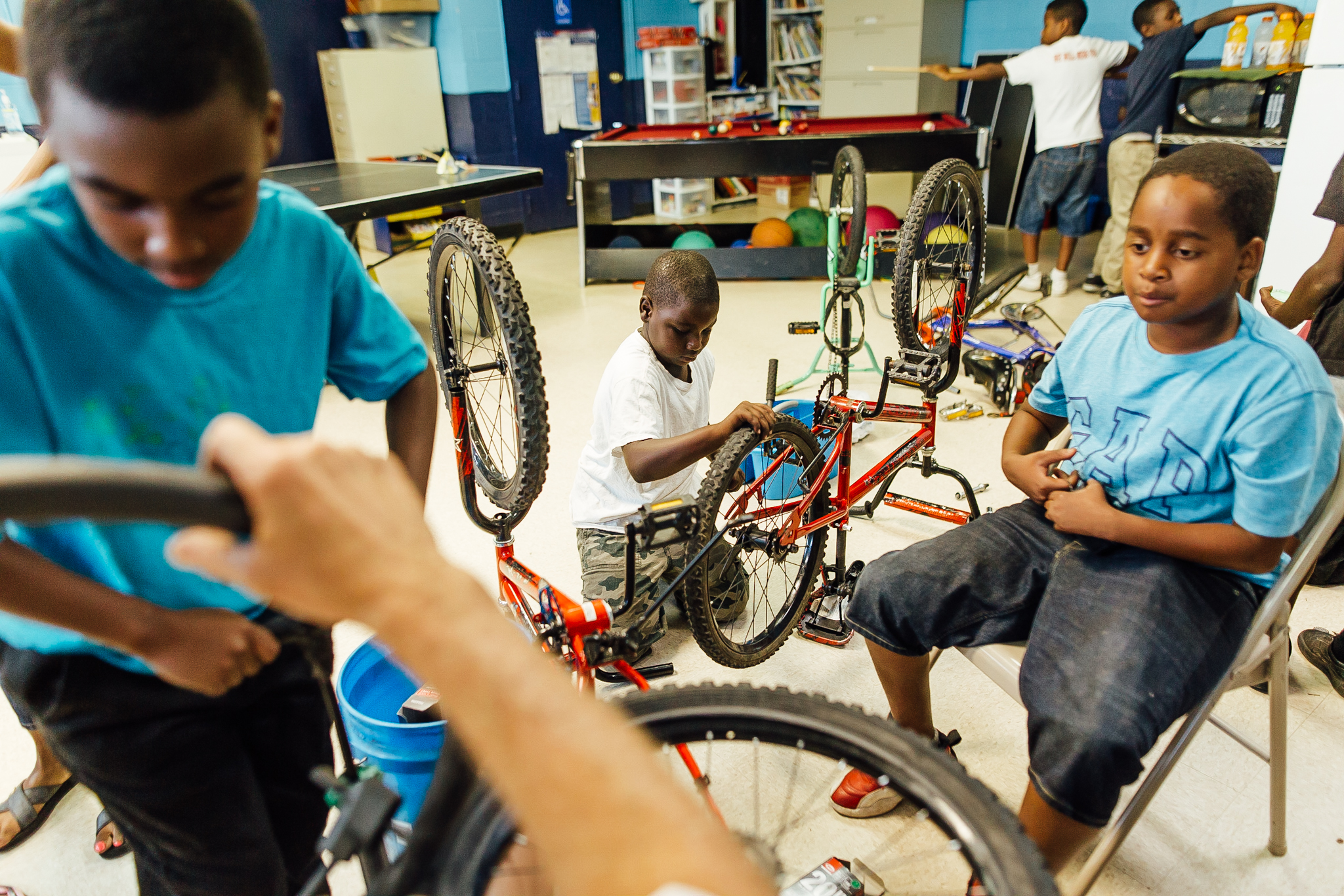 Bike Outreach - What: Teaching children how to restore bikes in the Newtowne 20 NeighborhoodWhen: Tuesday - 6 PMLeader: Tom WolgamuthContact: tmuth57@gmail.com