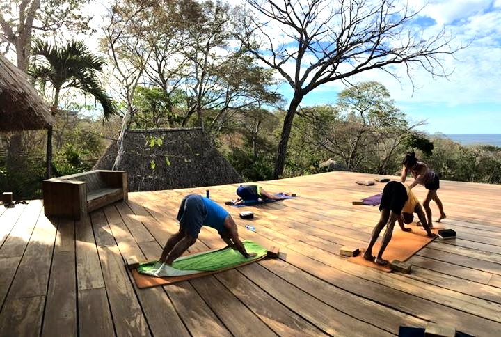 Our morning flows with the wind, water, and earth energy of Nica.