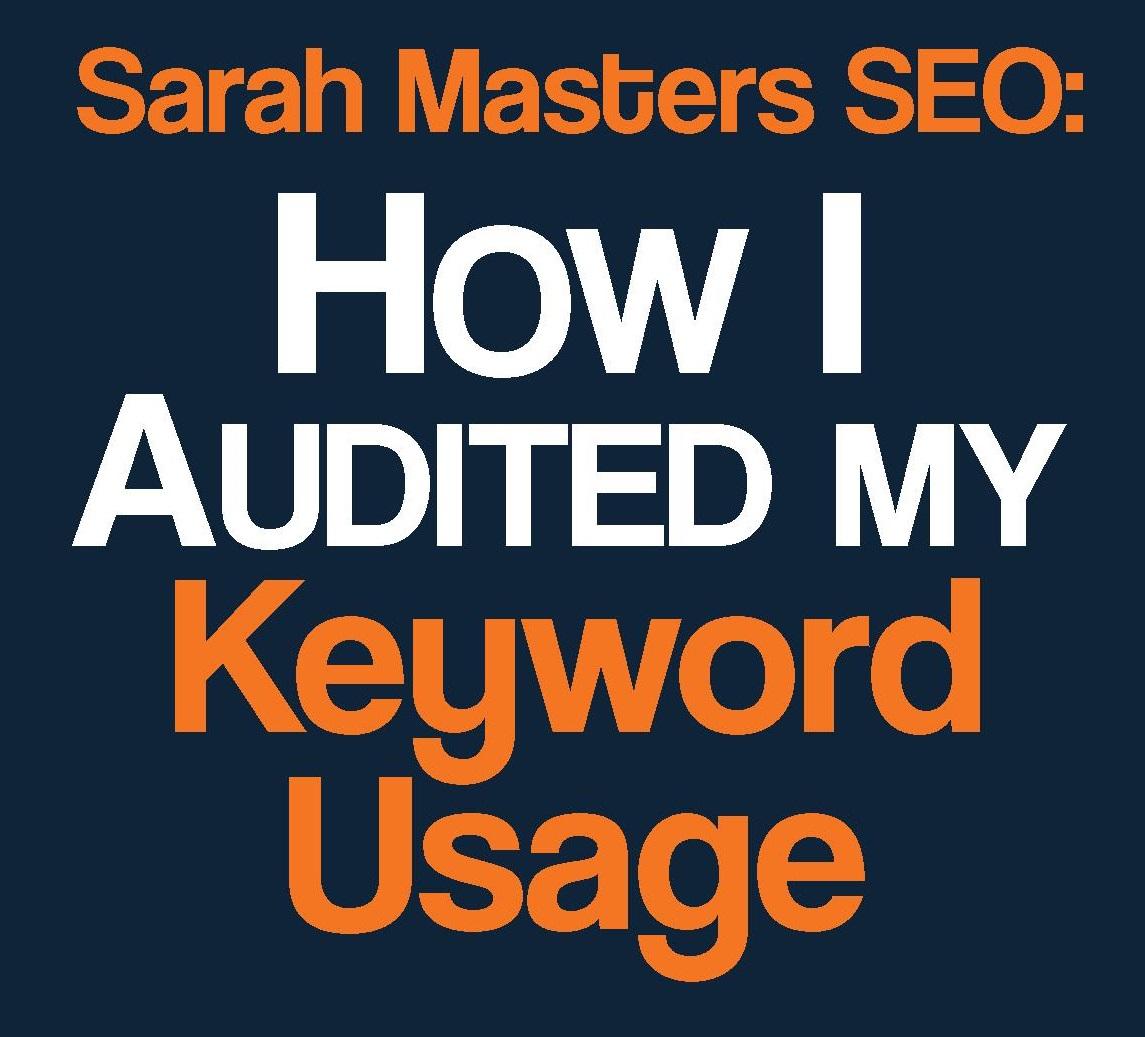Keyword Usage Audit SEO