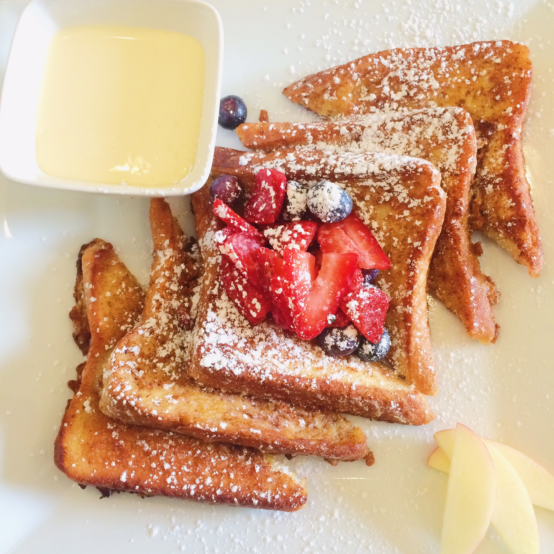 French Toast at Front Porch Cafe