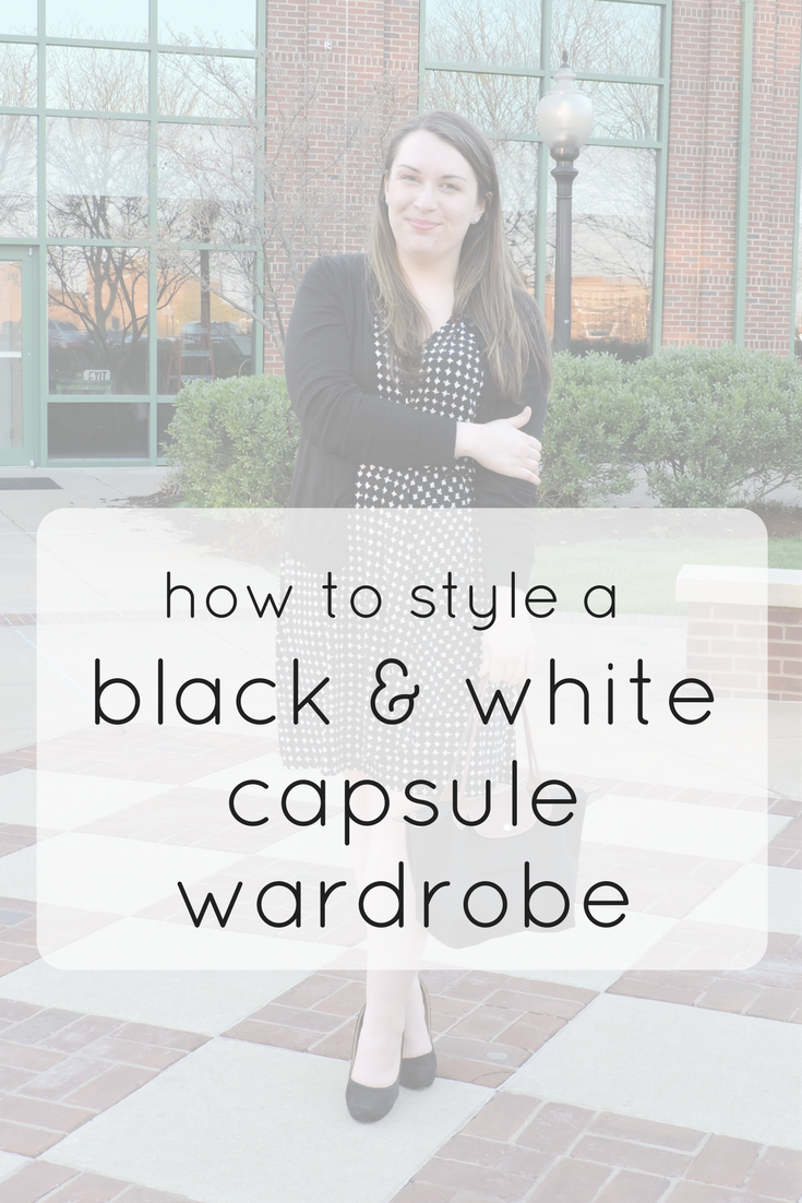 How to STyle a Black and White Capsule Wardrobe   Sarah Michelle Blog
