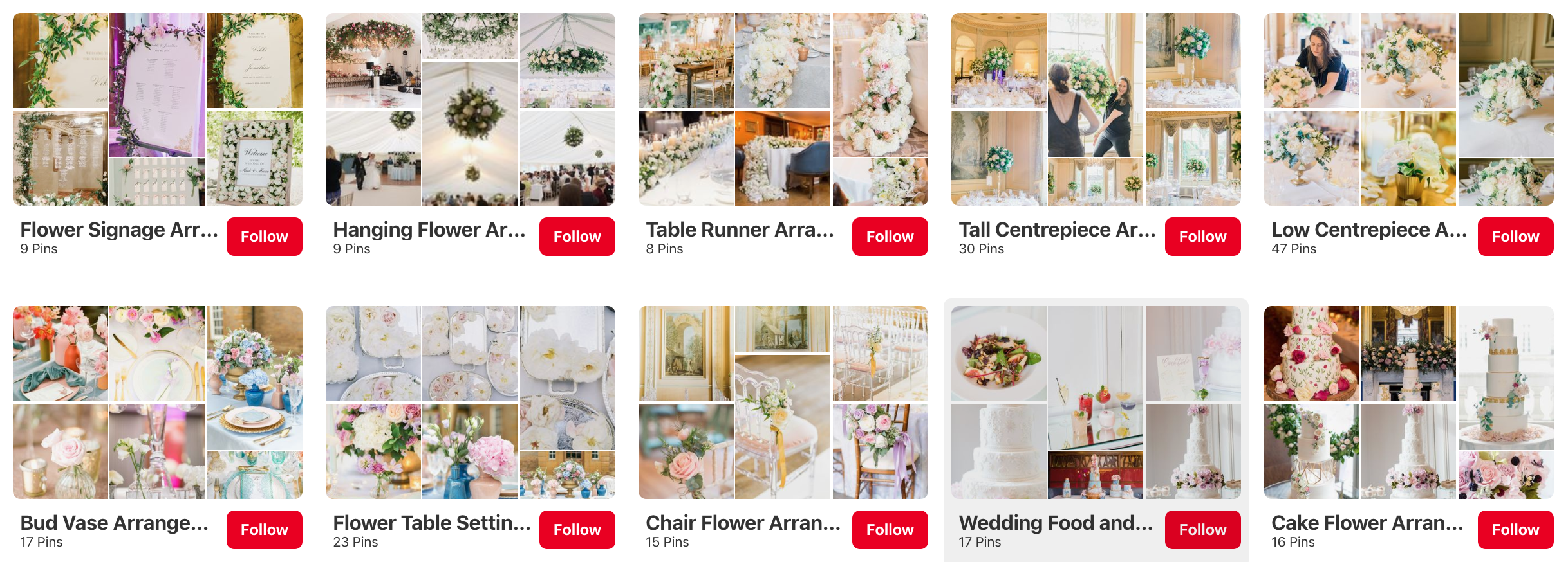 How To Use Pinterest For Wedding Flowers Inspiration