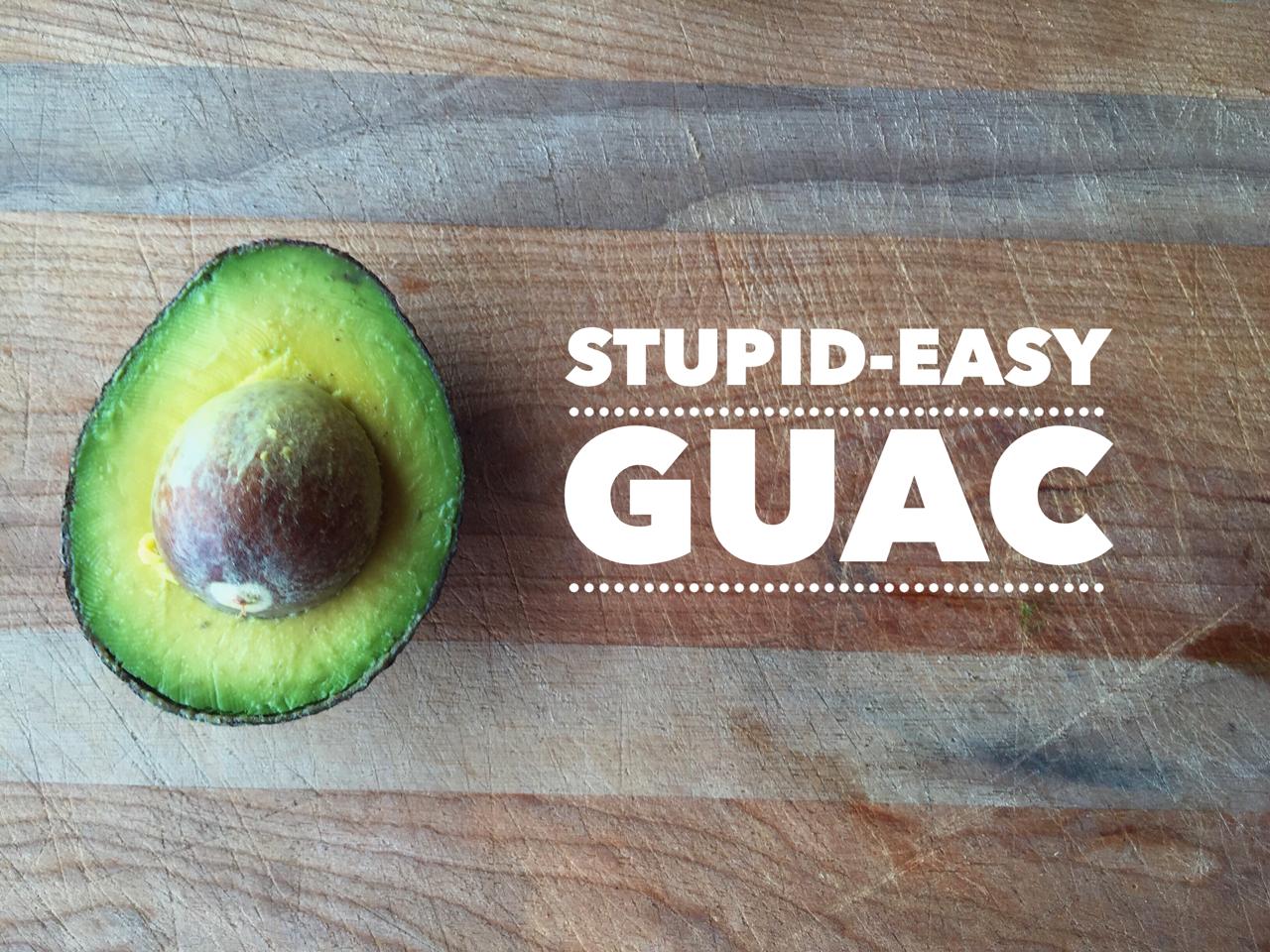 easy-guacamole