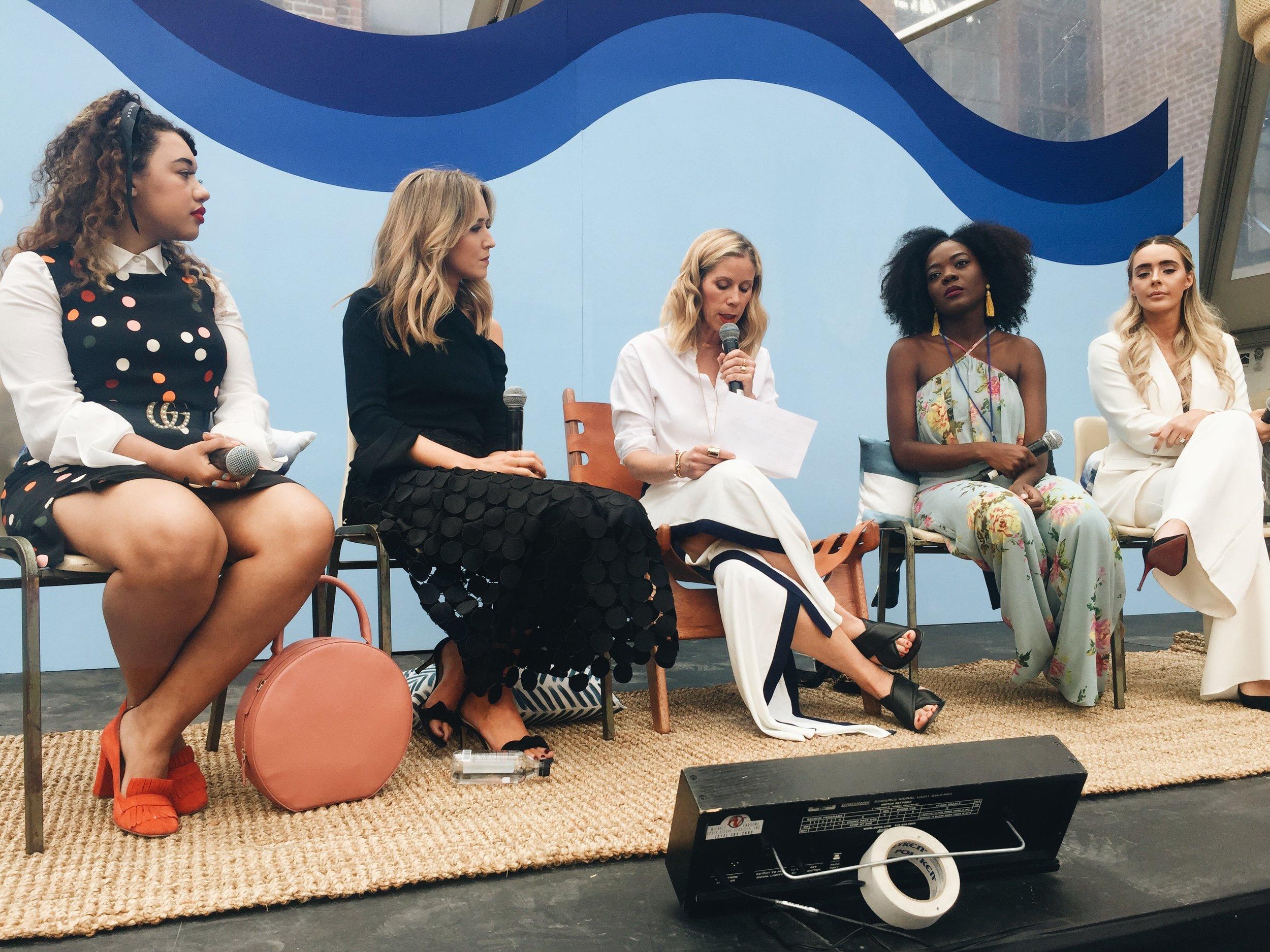panel of BOSSSSSSS ladies