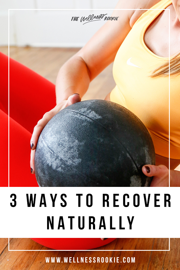 how to recover naturally from a workout