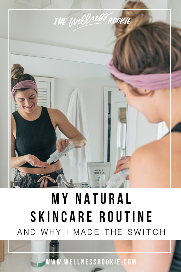 a natural and easy skincare routine that uses non-toxic and organic ingredients for better skin