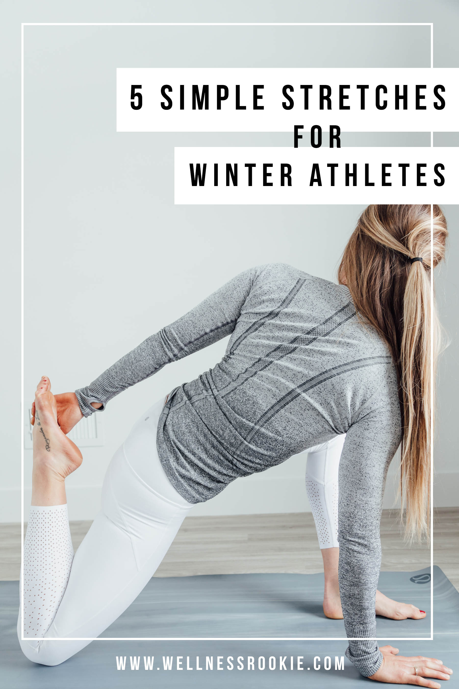 stretches for skiing and flexibility