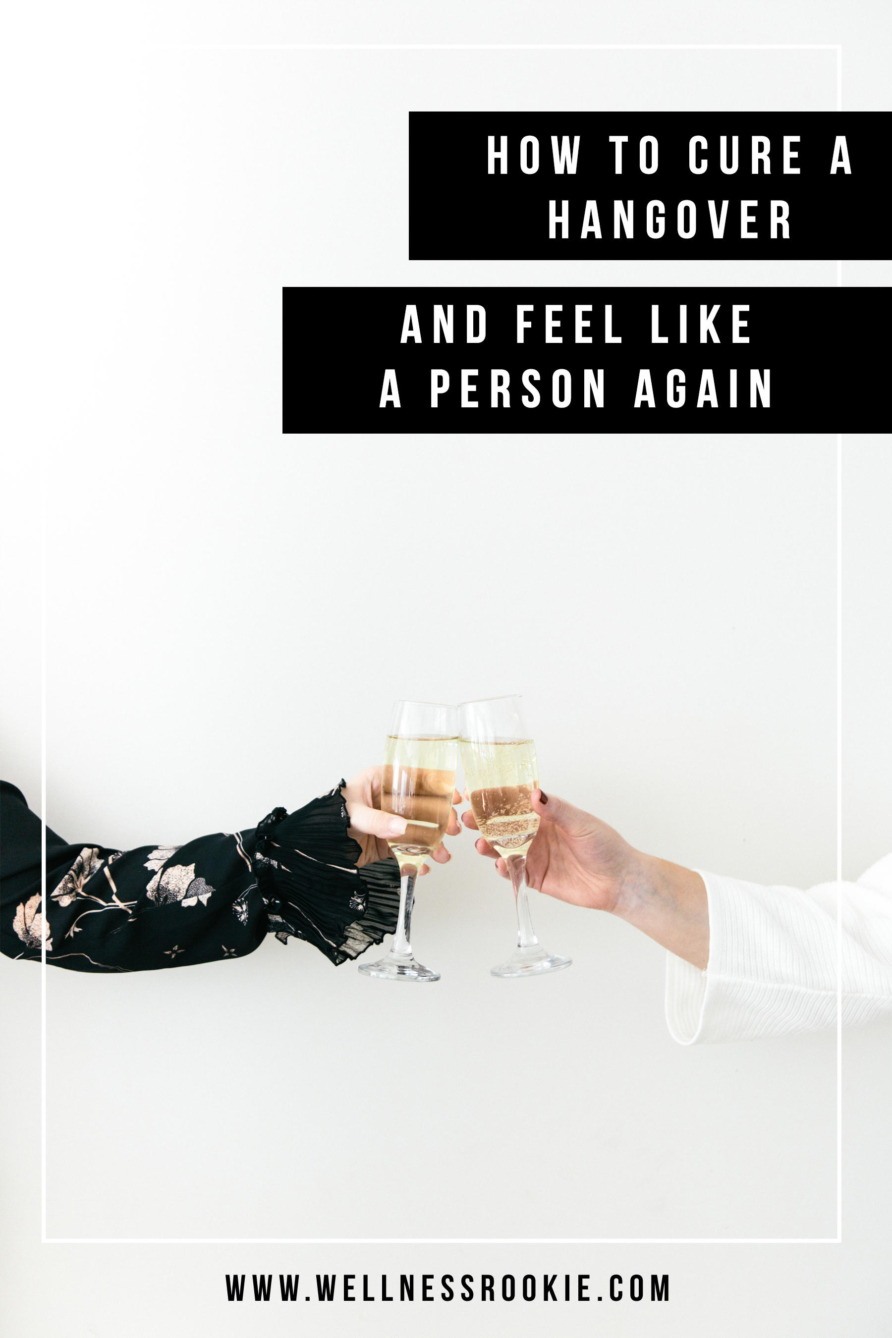 how to cure a hangover and feel better after a night of drinking, especially for new years eve or any celebration involving alcohol