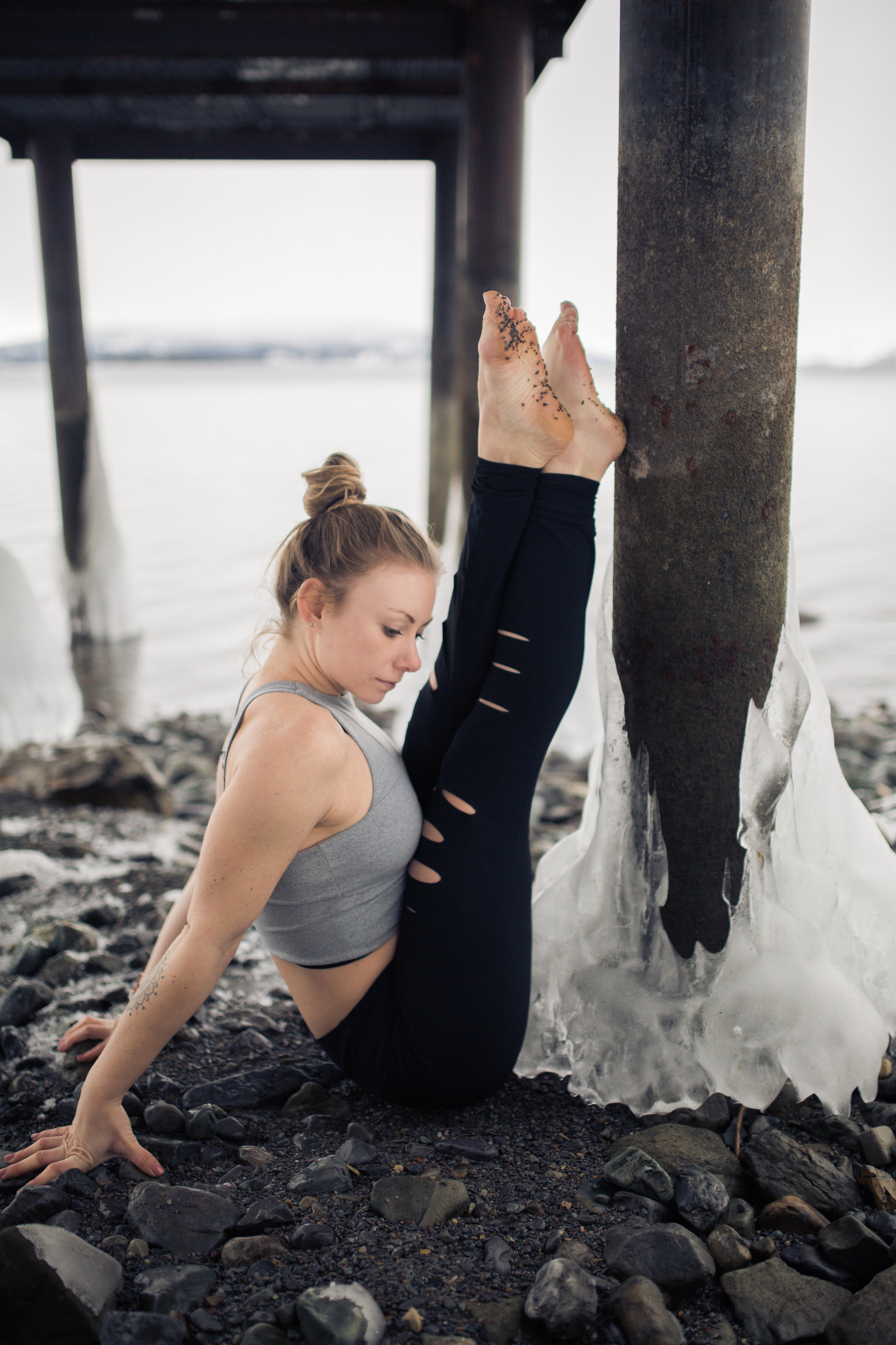 an interview with a yoga instructor