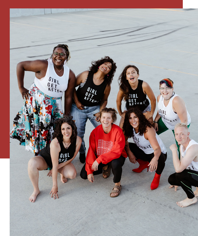 community - If you know me, you know the immense love I have for my girls squad community called #GIRLGETAFTERIT. Read more about my experience finding community and tips I have for others looking to do the same.