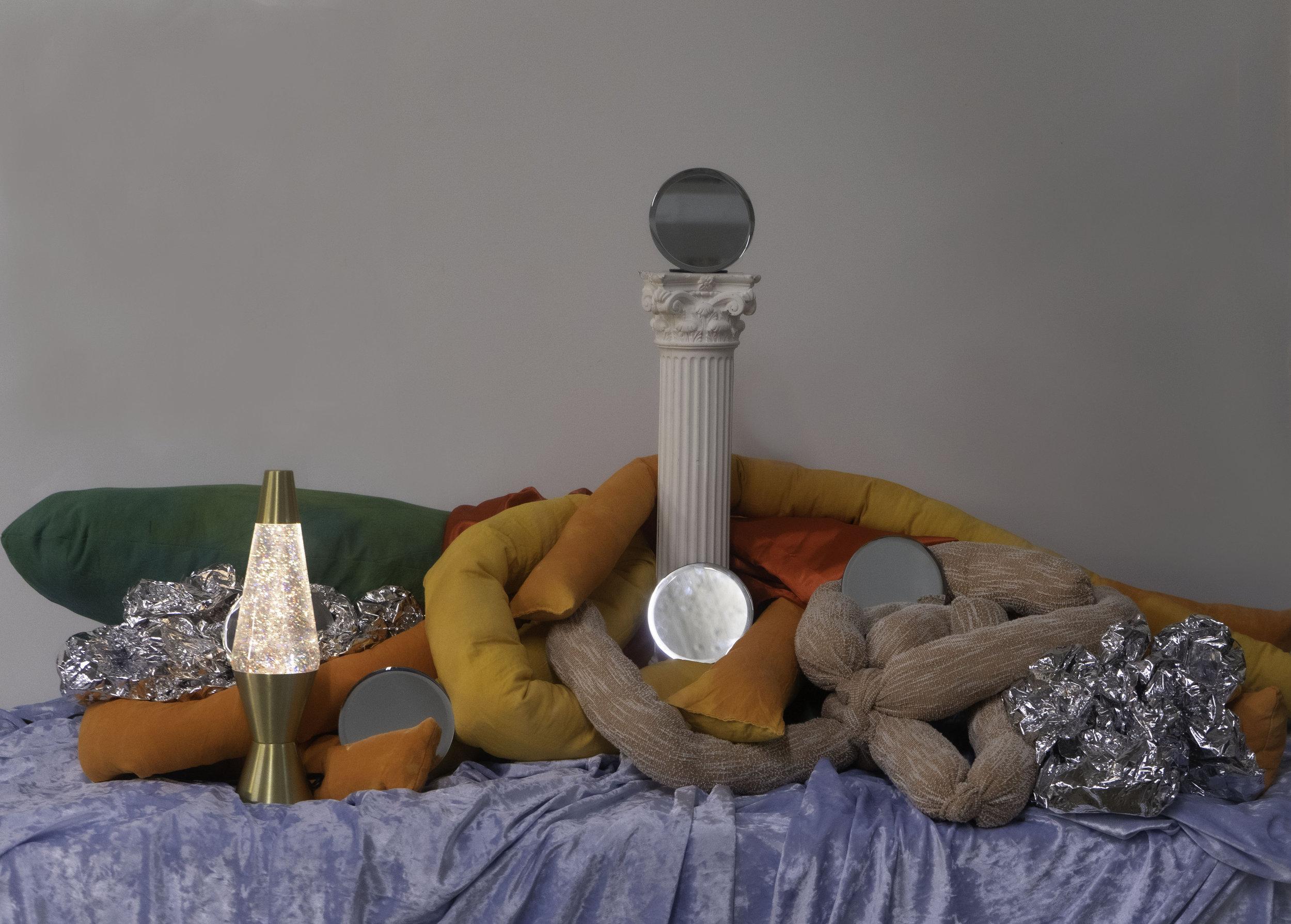 Art Direction & Photography:     Nereida Villareal      Soft Sculptures:    Tara LaPlante     Arts District, Los Angeles 2019