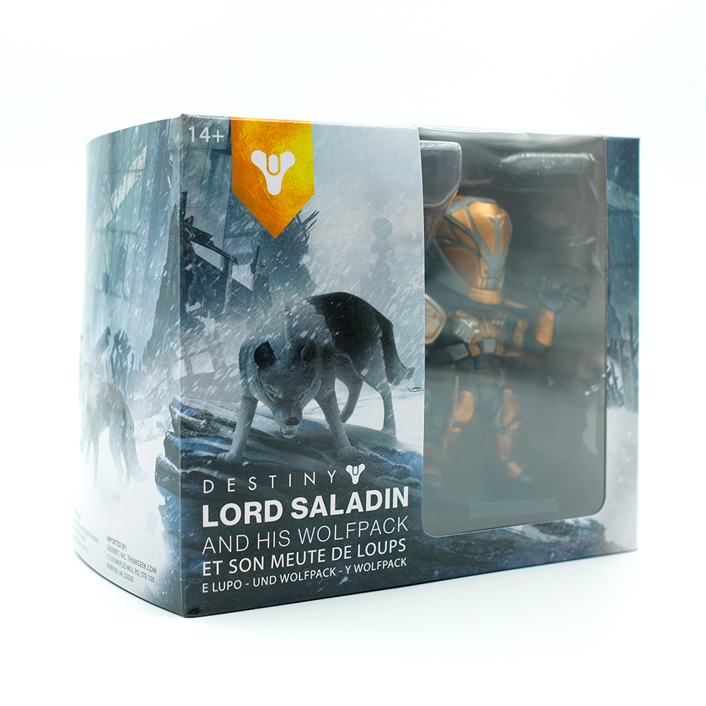 Rise of Iron: Lord Saladin & Wolves Packaging   Concept and creation in Adobe Photoshop.