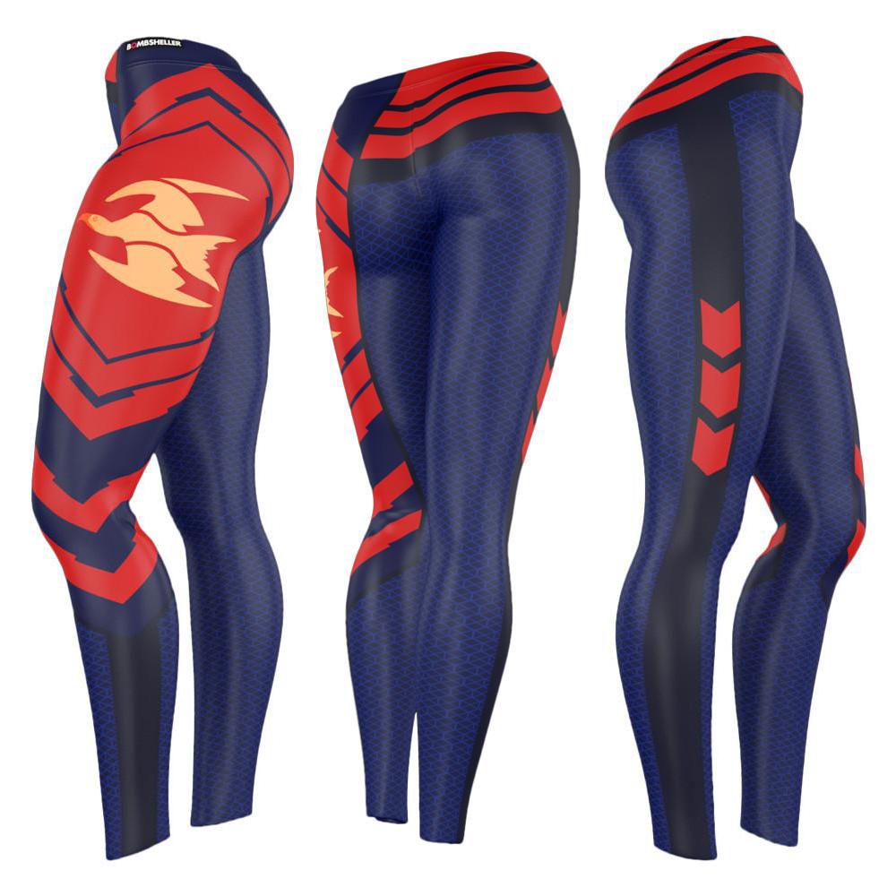 Destiny Titan Leggings   Concept based on in-game gear, created in Adobe Illustrator.