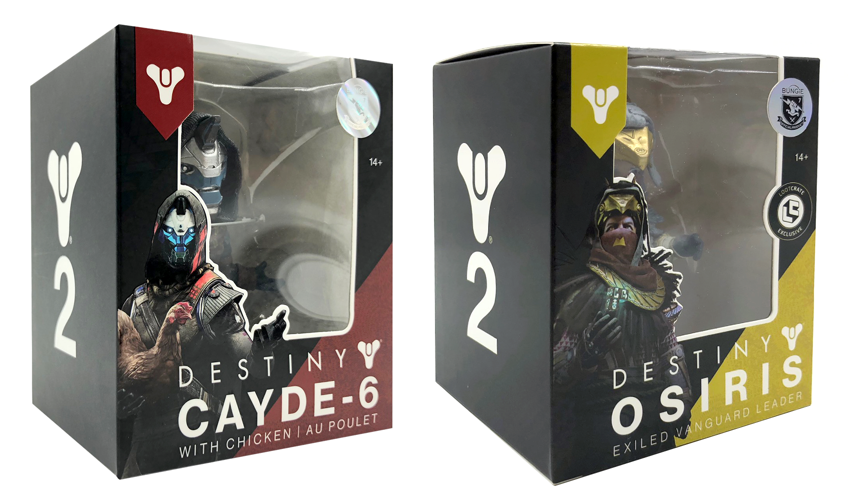 Destiny 2 Vinyl Figure Packaging   Concept and creation under art direction of Garrett Morlan and Lorraine McLees. Style established, created in Adobe Photoshop and Illustrator.