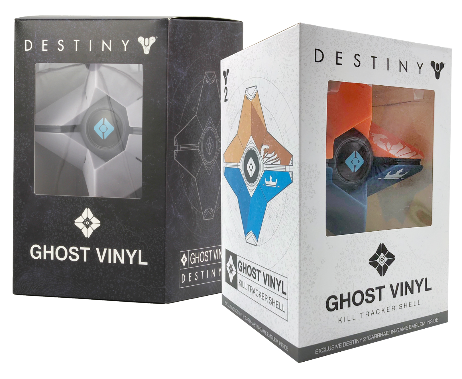 Destiny 2 Ghost Vinyl Packaging   Concept created for vendor in Adobe Photoshop.
