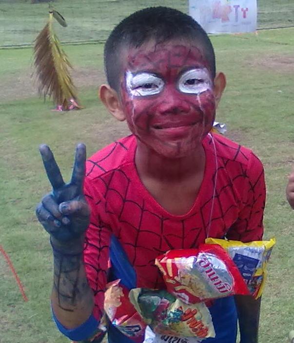 Non spider man and Nun 2010.jpg