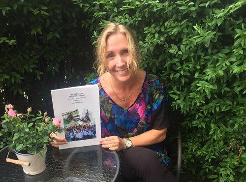 Susannes bok om sin tid som volontär - Susanne var volontär på Happy Child Home 2015 och gjorde lika stort avtryck på barnen och personalen som de gjorde på henne.