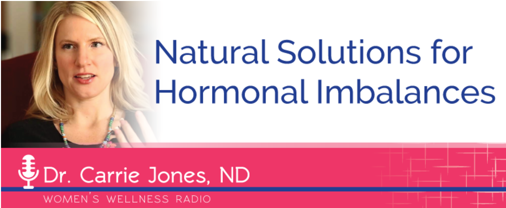 Natural Solutions for Hormone Imbalances - Bridgit Danner, LAc from Women's Wellness Radio/Women's Wellness Collaborative and I had such a blast discussing common hormone imbalances and what you can do about them!Click here to listen.